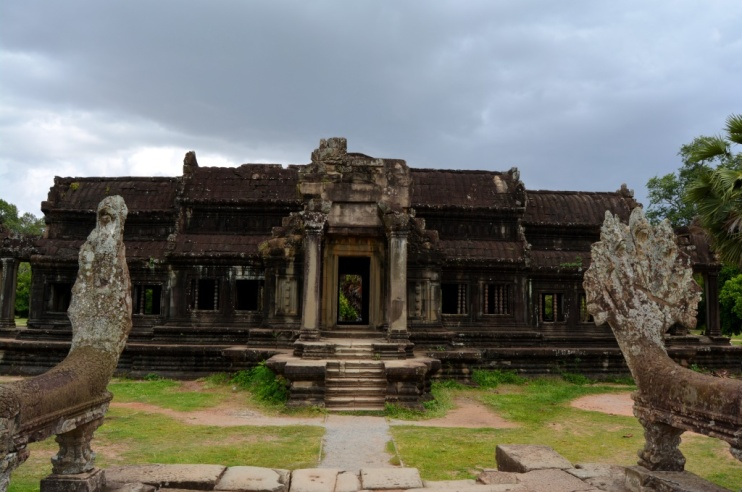 One of the libraries built on the grounds of Angkor Wat.